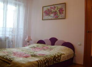own an apartment in the city center. 2spalnaya velor bed and