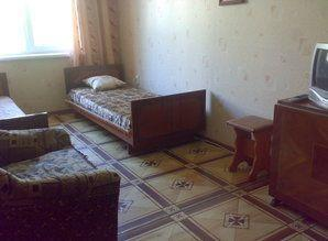 The apartment is located in the center of Gurzuf - st. Solov