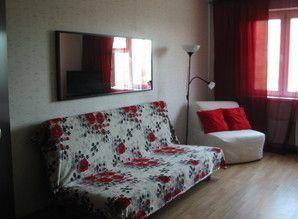 Daily rent one-bedroom apartment in the center of Khimki. Ne