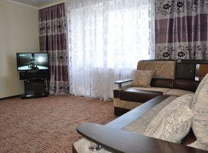 The apartment has an LCD TV, 2-chamber refrigerator, stove,
