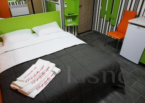 Cozy modern rooms (hourly) in Kharkov - the most simple, con