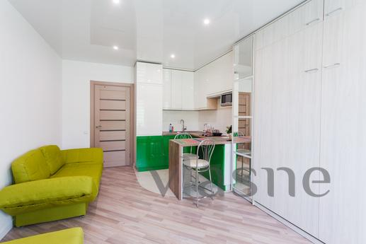 Modern studio apartment with kitchen, Kyiv - apartment by the day