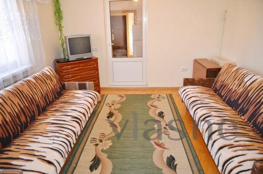 1-2 BR Suite 24 Mbps Internet checks, Chernivtsi - apartment by the day