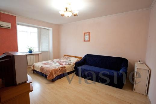 one-room near a shopping center, Kyiv - apartment by the day