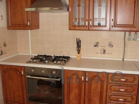Apartment is located in a quiet place in Irpen city.New buil