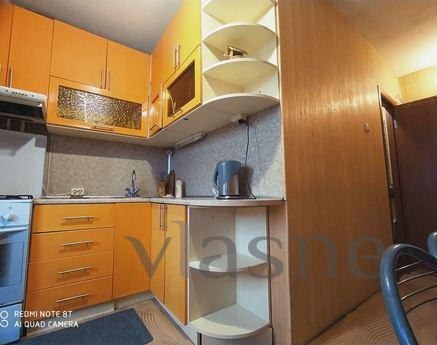 Apartment for rent, near a large lake, Kyiv - apartment by the day