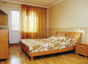 For short term rent 1-room. 40 square meters apartment in a