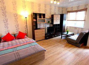 1-room. The apartment is newly renovated, with a 7-minute dr