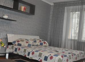 The apartment is located in the center of the city, but away