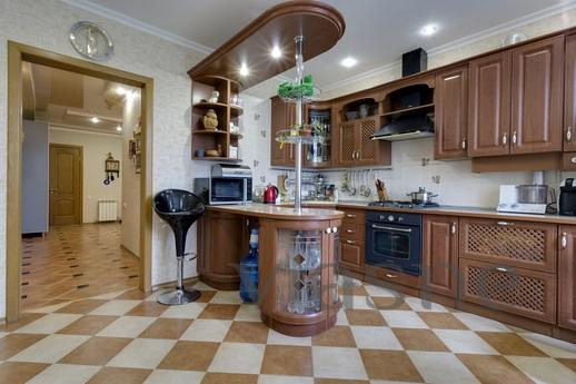 The apartment is located in the elite part of the city in a