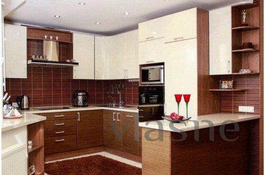 The apartments are located in the historic center of Lviv on