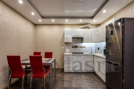 Apartment in a new building, a large designed for 8 people.